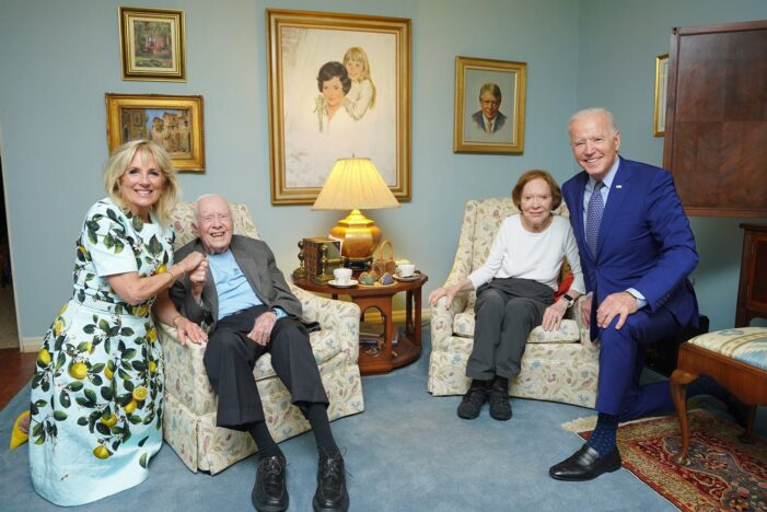The Bidens Visited the Carters Last Week in Georgia